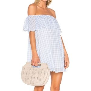 NWT Rebecca Minkoff Gingham Dev Dress